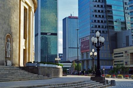 Warszawa przy ul. E. Plater