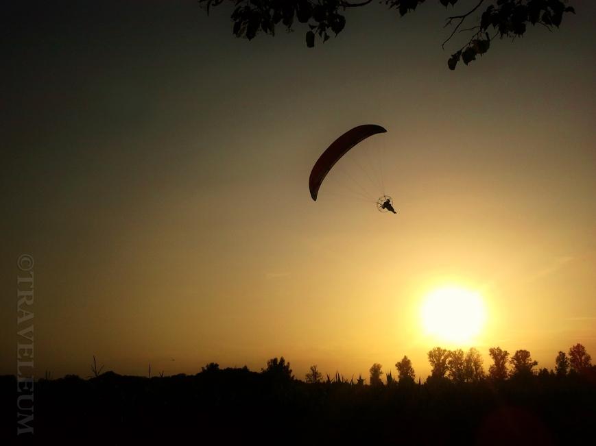 paragliding in Warsaw / paralotniarstwo w Warszawie